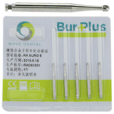 Dental Latch Round Carbide Burs Surgical LA RA SURG 6# 5pcs/Pack