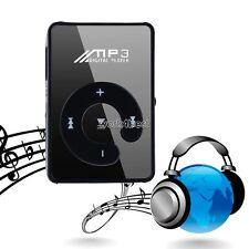 USB Clip MP3 Player Micro SD Card Radio Music Media Dancing Singing Song