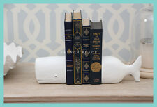 IN STOCK! Hamptons style Whale Bookends - FREE DELIVERY metro areas
