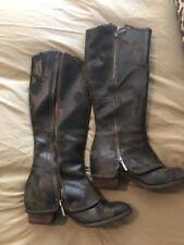"""Women's Donald J. Pliner """"Devi"""" Vintage Olive Suede Size 8.5 Riding Boot"""