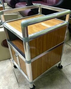Pedicure cart  Trolley wheel manicure pedicure nail massage spa chair