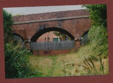 Road Bridge at former Budleigh Salterton Station site 1996 photograph db53