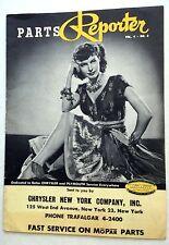 PARTS REPORTER Chrysler & Plymouth MAGAZINE '50 Vol. 4 #6 Ava Gardner CHEESECAKE