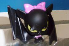 COUNT FABULOUS Monster High Pet BLACK BAT PINK BOW  Vinyl Figure 2.5 INCH NEW