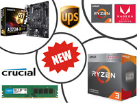 Fast 4.0GHz AMD Quad Core Ryzen 3 3200G Gaming Bundle - 8GB RAM, MSI Motherboard