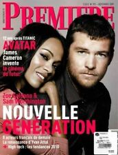 Premiere Magazine Sam Worthington Zoe Saldana French Edition Avatar