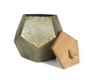 Pentagonal Decorative Storage Box, Jewelry Box, Home Decor Gift, Kitchen Decor
