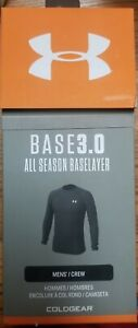 Under Armour Base 3.0 All Season Baselayer Men's Crew Size L
