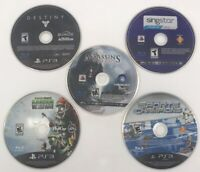 Lot Of 5 Playstation 3 PS3 Games (Discs Only) Assassin's Creed/ Destiny More +