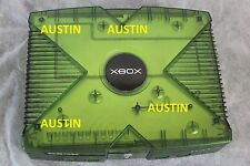 TESTED Microsoft Xbox Original Console- Green Halo Special Edition