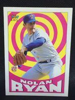 NOLAN RYAN GOAT 1992 Topps Kids Texas Rangers GOAT HOF MINT
