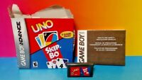 Uno + Skip - Bo Card Games - Game Boy Advance - Tested Nintendo