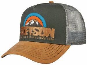 Stetson Trucker Cap Baseball Mesh Snap Cap Hiking 57 New Trend