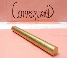 C360 Brass 75 Round Rod Stock 12 Long Lathe Machinist New Solid Bar 34 1pc