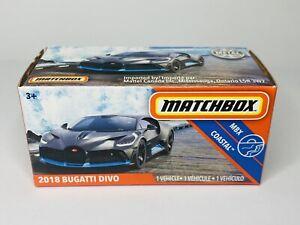 Matchbox 2018 Bugatti Divo Grey