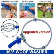 Woof Washer Upgraded version Pet Dog fold 360° Washer Bathing Shower Washe Kit