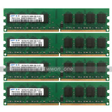Samsung 16GB 4x4GB PC2-6400 DDR2 800MHz 240Pin DIMM Desktop For AMD CPU Memory