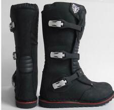 Wulfsport ADULTS TRIALS BOOTS Race Enduro Trail Off Road black trials adult
