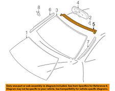 TOYOTA OEM 97-01 Camry Windshield-Upper Molding Trim 75531AA011