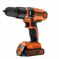 Black & Decker EGBL188KB 18V Lithium 2 Gear Hammer Drill 220-240 Volts 50/60Hz