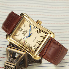 Mens Tonneau Luxury gents Wrist watch 741-1 Automatic Mechanical Sewor Fashion