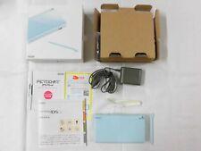 X4701 Nintendo DS Lite console Ice Blue Japan NDS w/box stylus pen charger