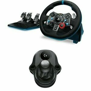 Logitech G29 Steering Wheel For Simulation Of Racing (Compatible W PS4,PS3 & PC)