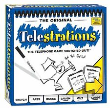 USAopoly Telestrations Original 8 Player Board Game Free Shipping