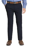 IZOD Men's Performance Comfort Flex Stretch Straight Fit Dress Pant NAVY 34X34