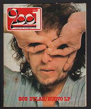 CIAO 2001 28/1978 BOB DYLAN COCA COLA MARIO PANSERI BILLY JOEL ROBERT FIX KISS