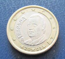 Spagna 2003 1 euro moneta da circolazione oggetto da collezione