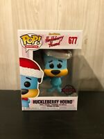 Funko Pop Vinyl Cyber Monday Christmas Huckleberry Hound  Exclusive