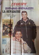 L'Equipe Journal 31/3/2000; Zidane-Benazzi/ Limoges-Korac/ Patinage Artistique