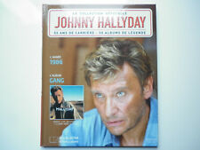 Johnny Hallyday livre + 1cd Gang La collection officielle
