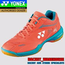 NEW WOMENS YONEX POWER CUSHION SHB65Z2 BADMINTON SQUASH INDOOR SHOES CORAL