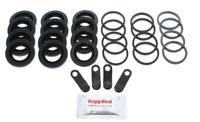 for AUDI A6 RS6 FRONT L & R Brake Caliper Seal Repair Kit (300029)