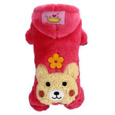 Halloween Winter Cat Dog Costume Jumpsuit Small Pet Puppy Coat Hoodie Apparel