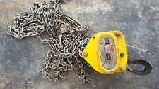 1 ton Chain Block and Tackle Hoist. Tuffy, Beaver, Boss, Harrington, Nobles