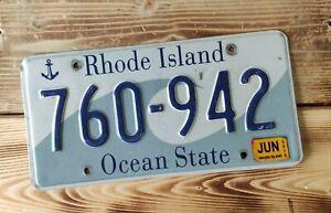 USA Nummernschild/Kennzeichen/license plate/US car/Harley/Deco *Rhode Island *
