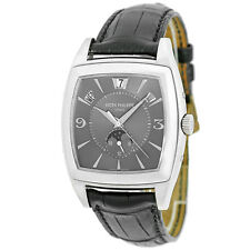 PATEK PHILIPPE 18K White Gold Gondolo Annual Calendar Moonphase 5135 G Warranty