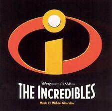 THE INCREDIBLES Disney PIXAR Soundtrack Score CD Michael Giacchino  *VERY GOOD*
