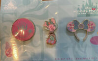 Minnie Mouse Main Attraction Pin Set April Small World Disney Exclusive Pins
