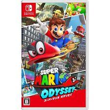 Super Mario Odyssey NINTENDO SWITCH JAPANESE IMPORT REGION FREE