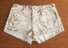 RALPH LAUREN DENIM & SUPPLY Women's Sz 32 Destroyed Cutoff Cotton Jean Shorts