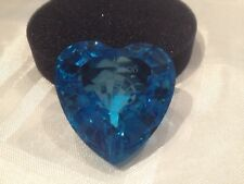 SWAROVSKI SCS 2006 ETERNITY /BLUE HEART EVENT PIECE 9100 000 018 MINT BOXED RARE