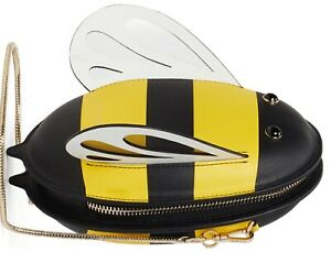 SALE! NEW NWT KATE SPADE NEW YORK BUZZ BEE HONEY LEATHER CROSSBODY BAG MSRP $328