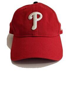Philadelphia Phillies New Era Red Baseball Hat Cap Licensed Adjustable New