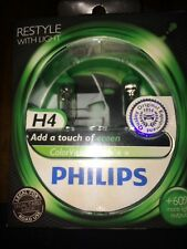 PHILIPS H4 COLORE VISION H4 COLORE VERDE VISION BULBI PHILIPS