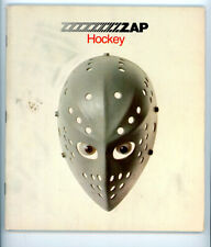 1 -  8 x 9  Zap Hockey Book, 64 Pages of stories & pictures and intresting item