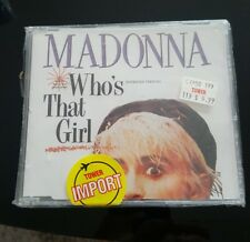 Madonna ULTRA RARE  ‎Who's That Girl CD Single  German 2 Track Rare Sealed !!